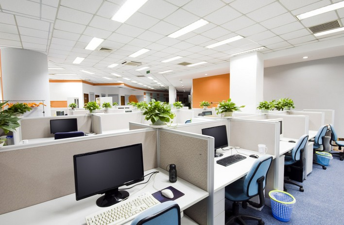 lighting-in-an-office